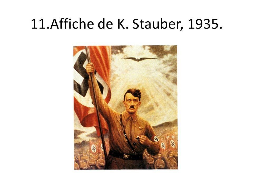 11.Affiche de K. Stauber, 1935.