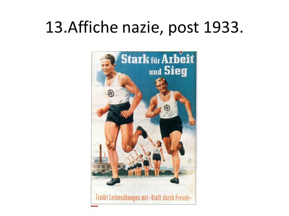 13.Affiche nazie, post 1933.
