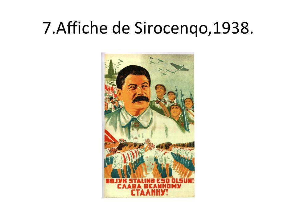 7.Affiche de Sirocenqo,1938.