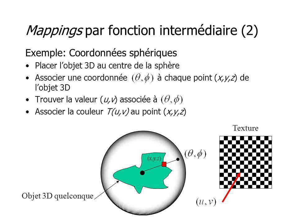 Mappings par fonction intermédiaire (2)