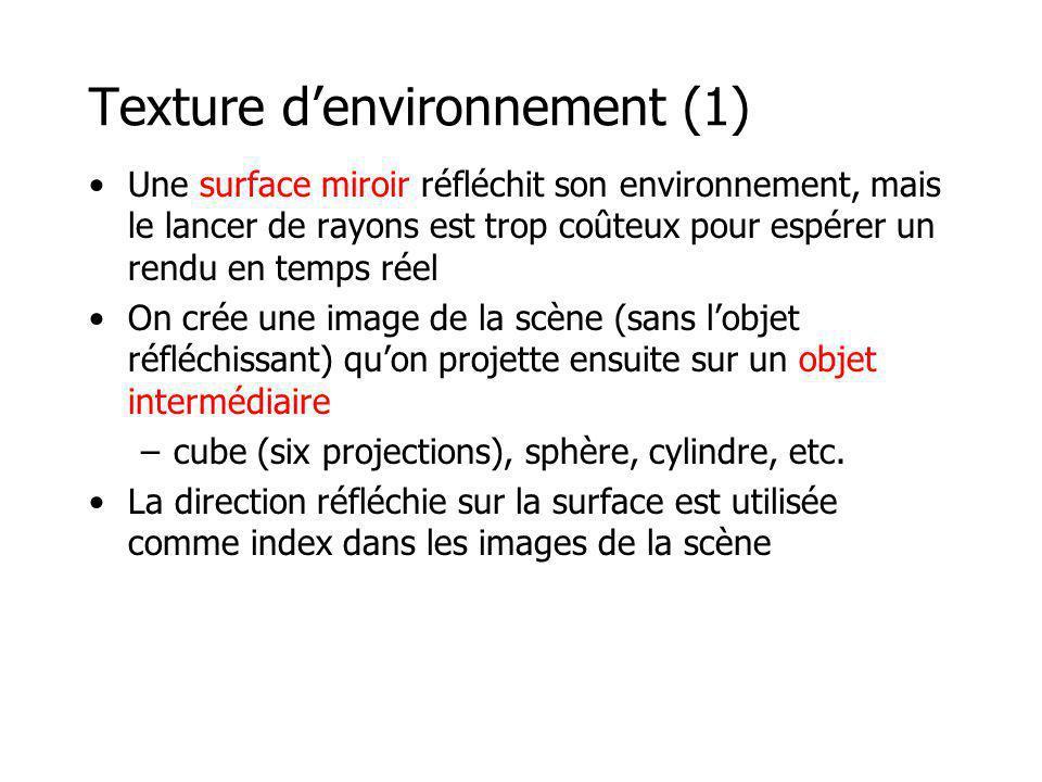 Texture d'environnement (1)