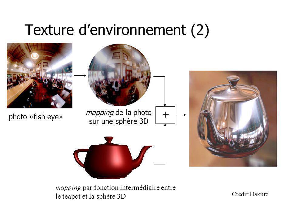 Texture d'environnement (2)