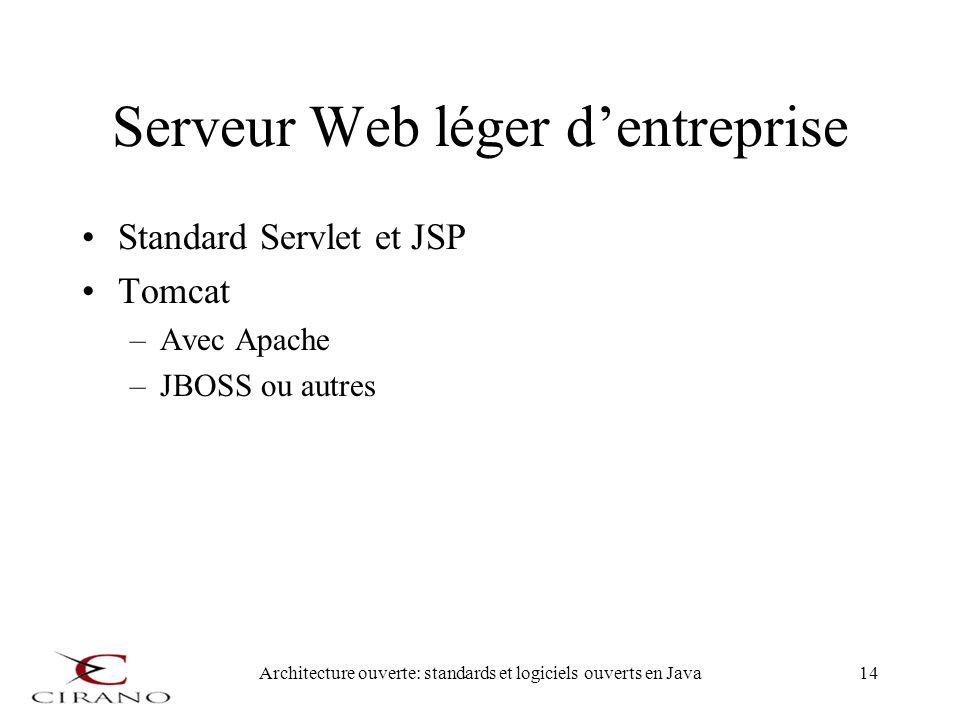 Serveur Web léger d'entreprise