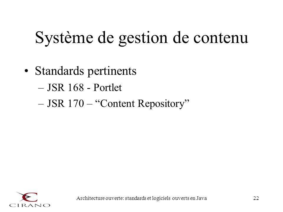 Système de gestion de contenu