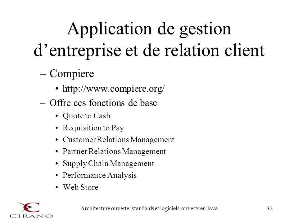 Application de gestion d'entreprise et de relation client