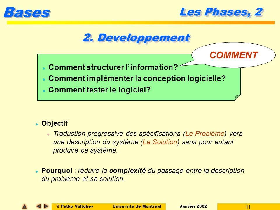 Les Phases, 2 2. Developpement COMMENT