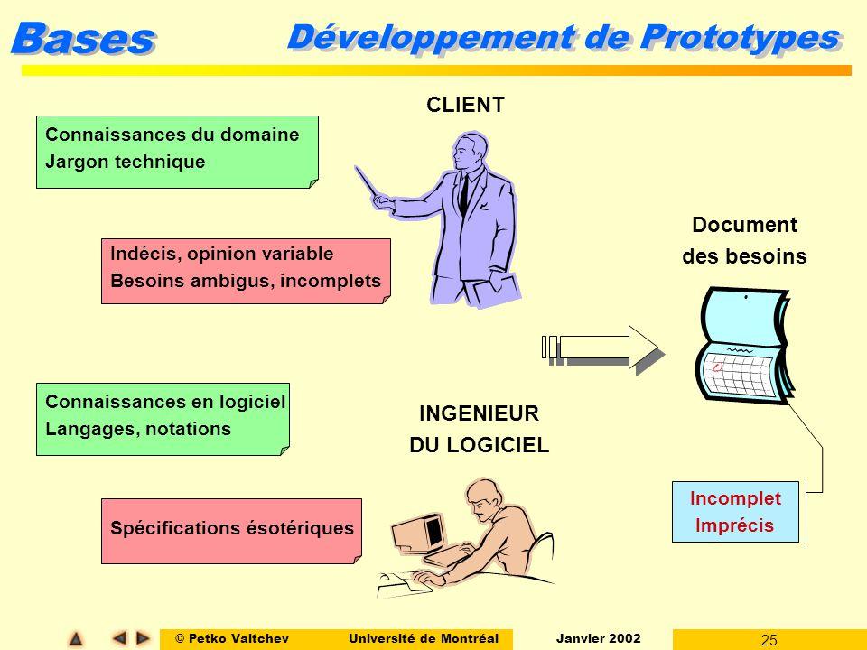 Développement de Prototypes