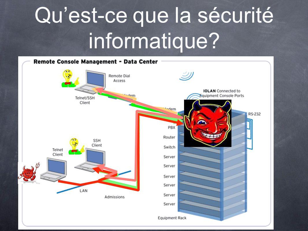 Qu'est-ce que la sécurité informatique