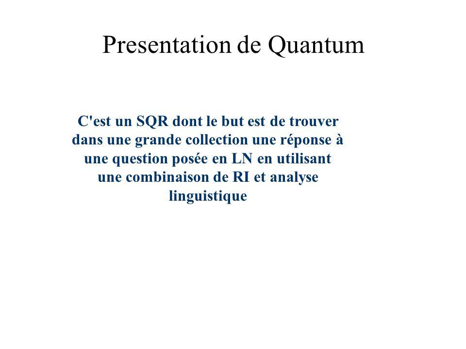 Presentation de Quantum