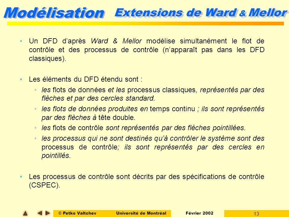 Extensions de Ward & Mellor