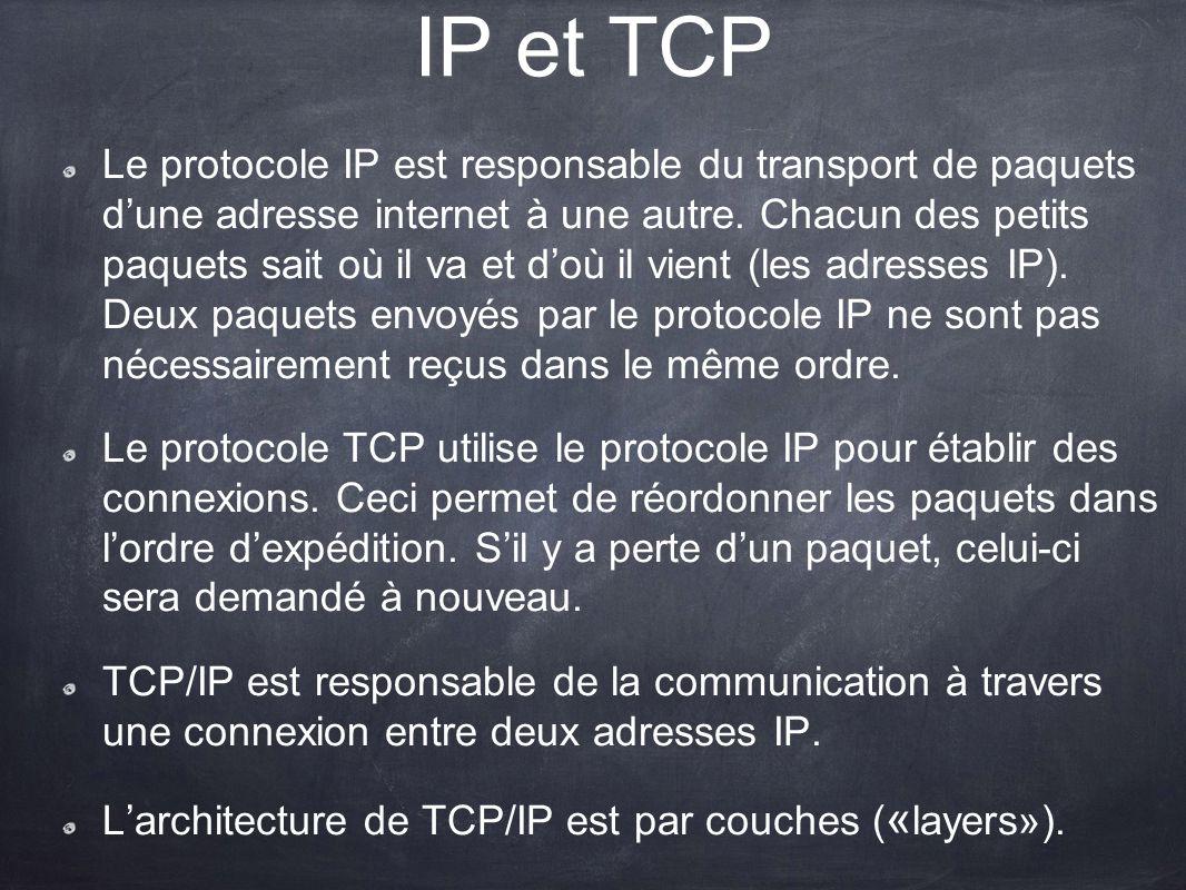 IP et TCP