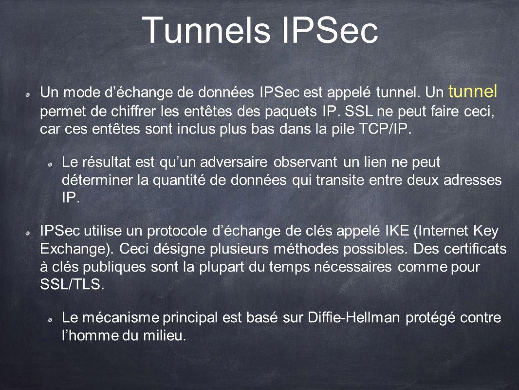 Tunnels IPSec