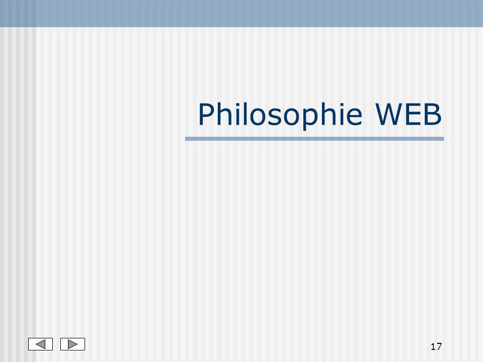 Philosophie WEB