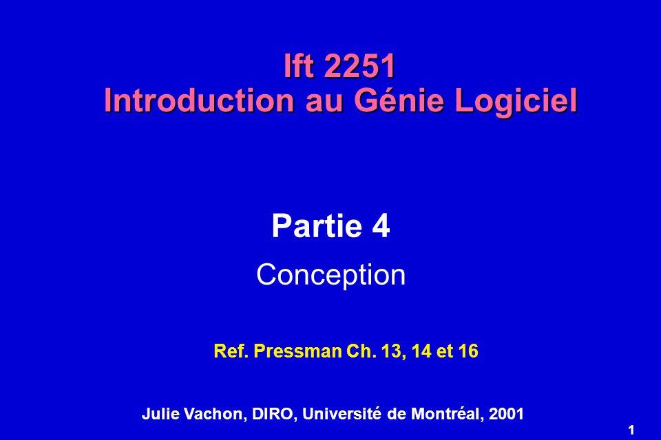 Ift 2251 Introduction au Génie Logiciel