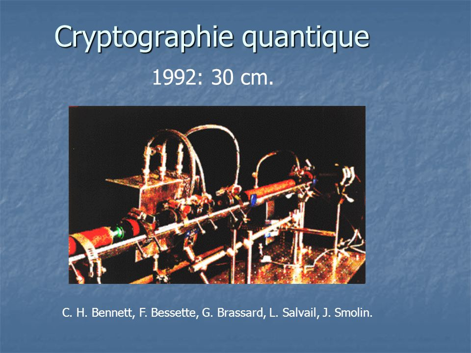 Cryptographie quantique