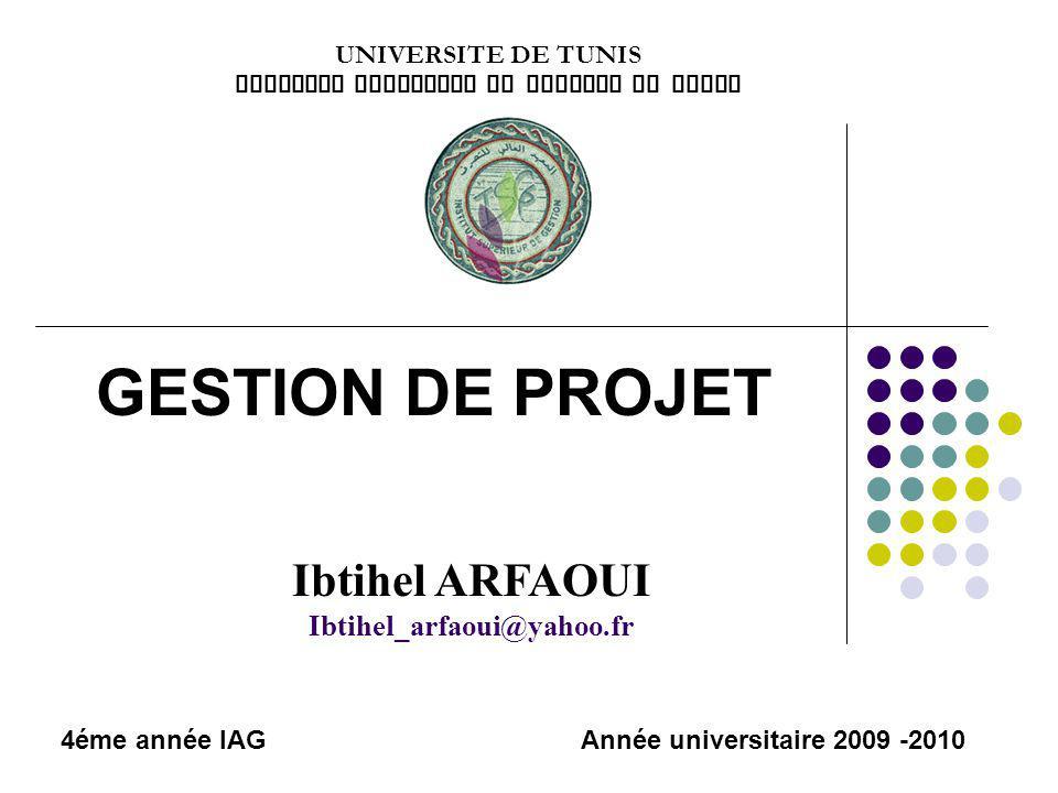 INSTITUT SUPERIEUR DE GESTION DE TUNIS
