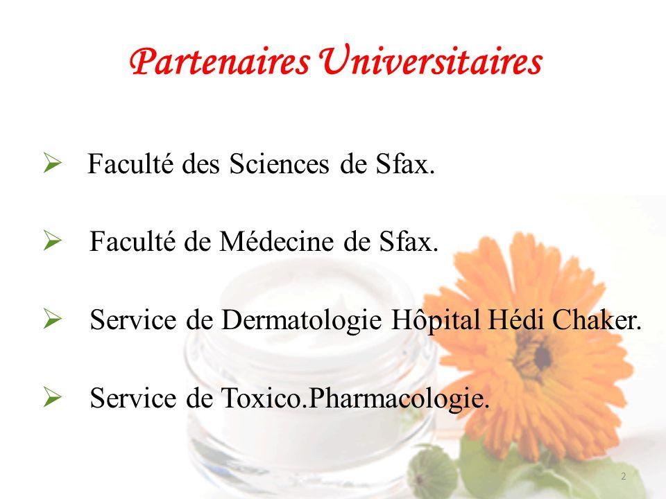 Partenaires Universitaires