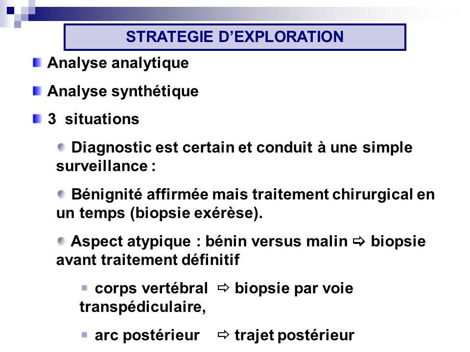 STRATEGIE D'EXPLORATION