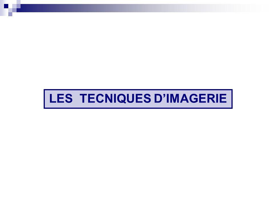 LES TECNIQUES D'IMAGERIE