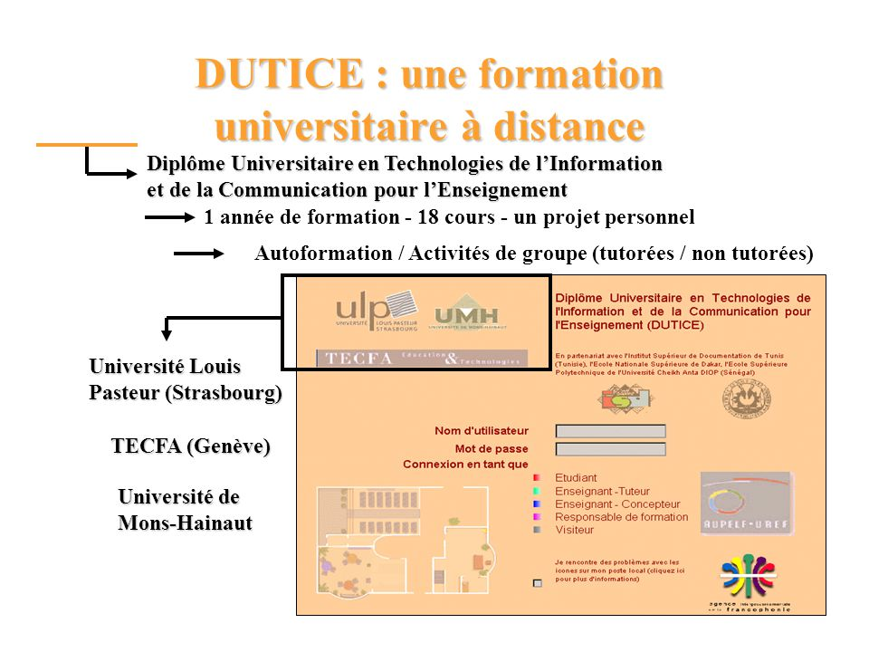DUTICE : une formation universitaire à distance