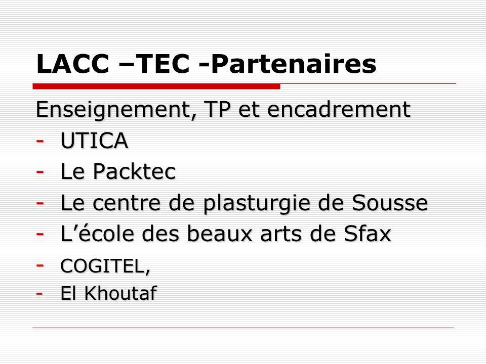 LACC –TEC -Partenaires