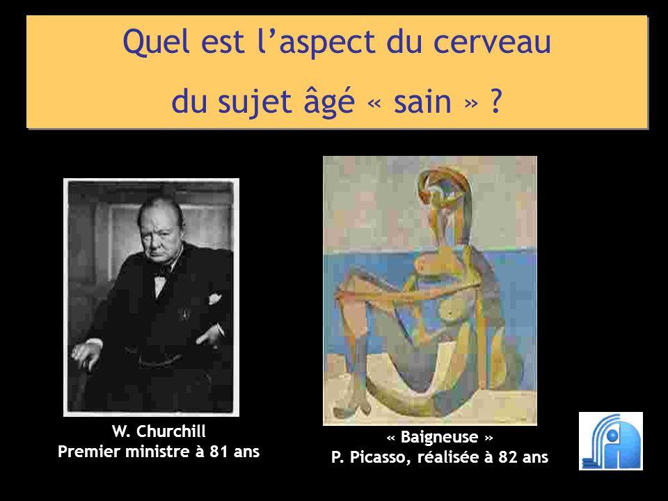 P. Picasso, réalisée à 82 ans