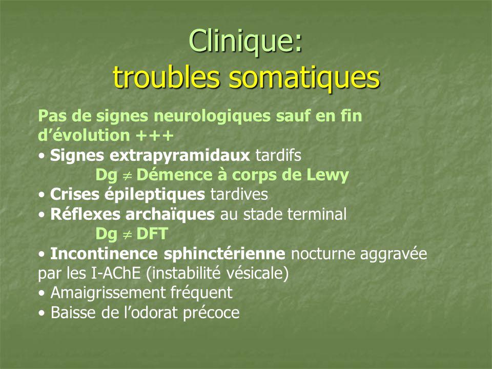 Clinique: troubles somatiques