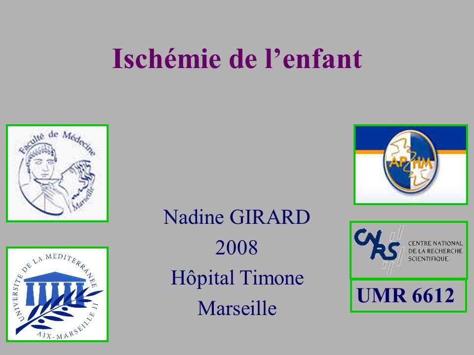 Nadine GIRARD 2008 Hôpital Timone Marseille