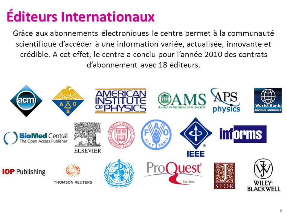 Éditeurs Internationaux
