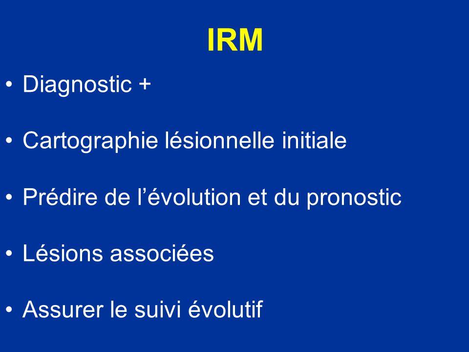 IRM Diagnostic + Cartographie lésionnelle initiale