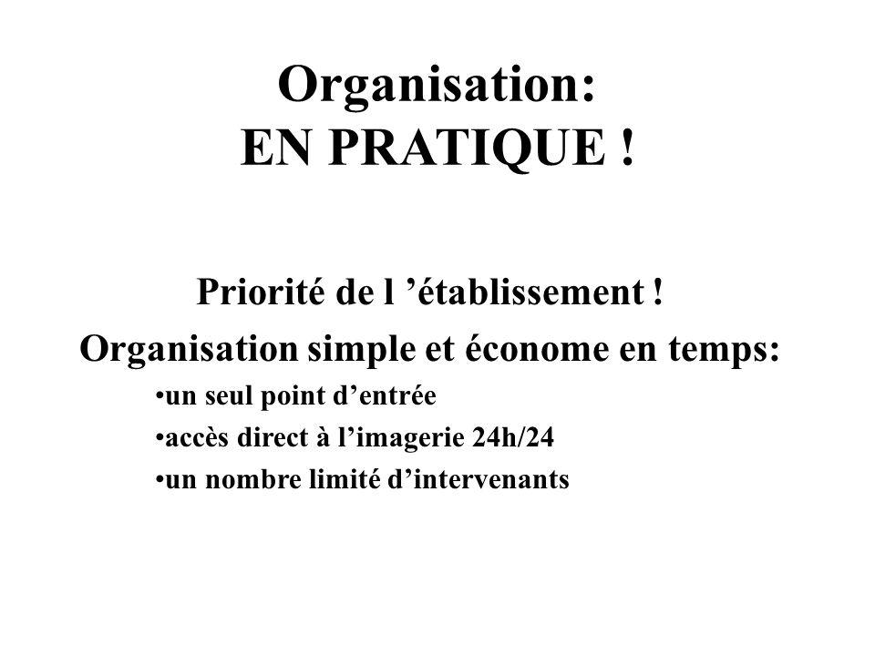 Organisation: EN PRATIQUE !