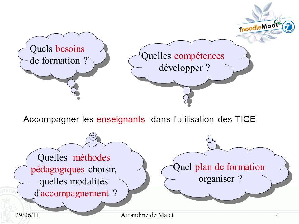 Quels besoins de formation Quelles compétences développer