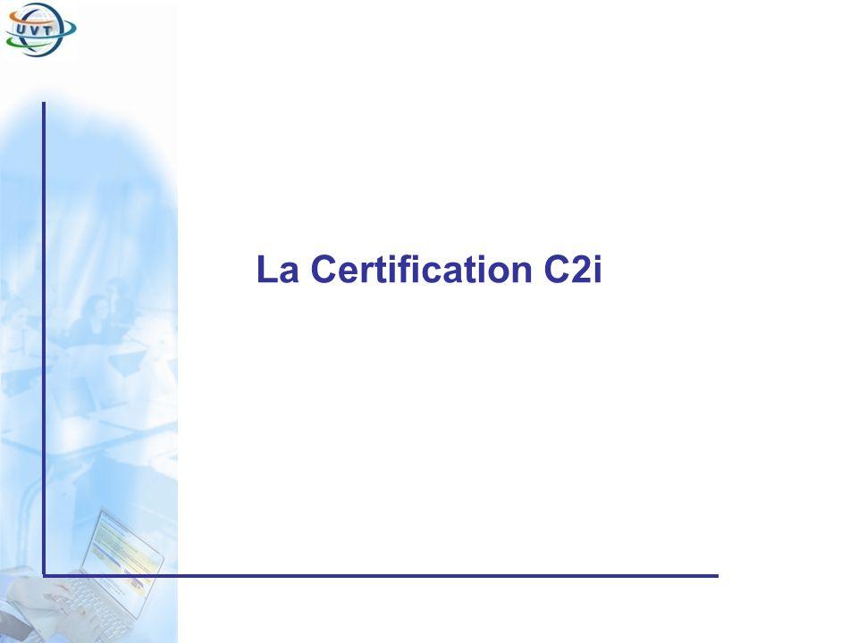 La Certification C2i