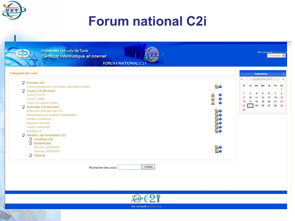 Forum national C2i