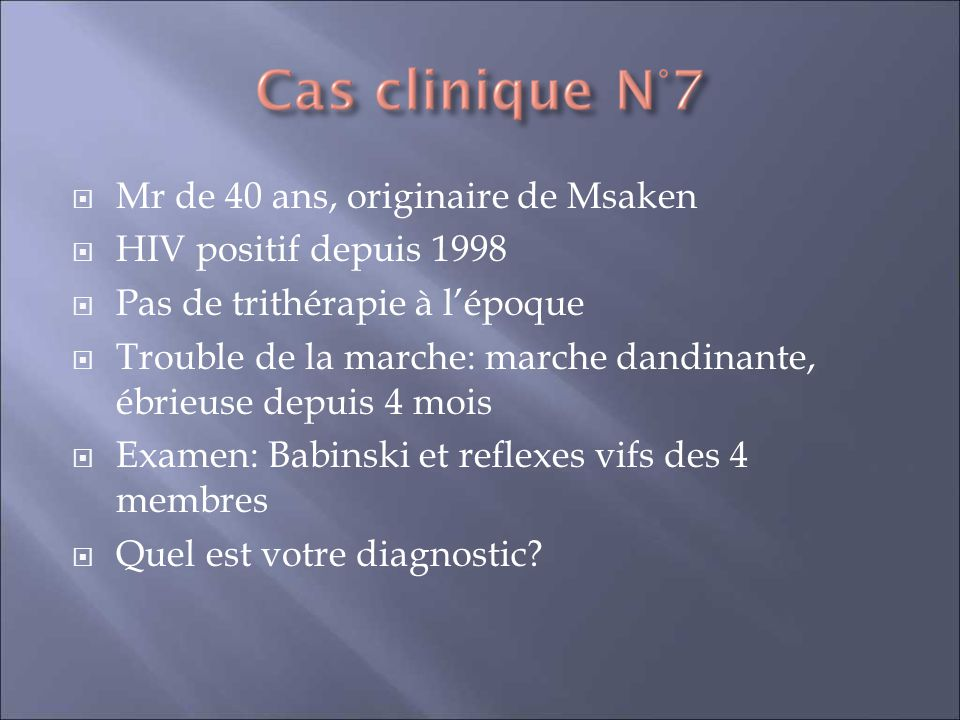 Mr de 40 ans, originaire de Msaken
