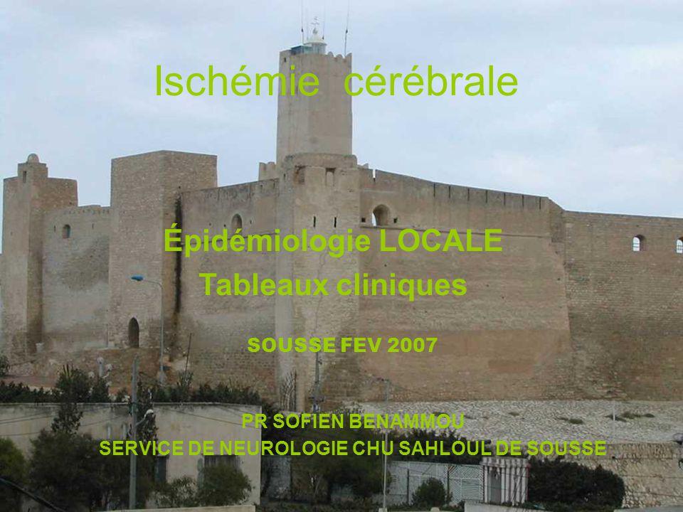 SERVICE DE NEUROLOGIE CHU SAHLOUL DE SOUSSE