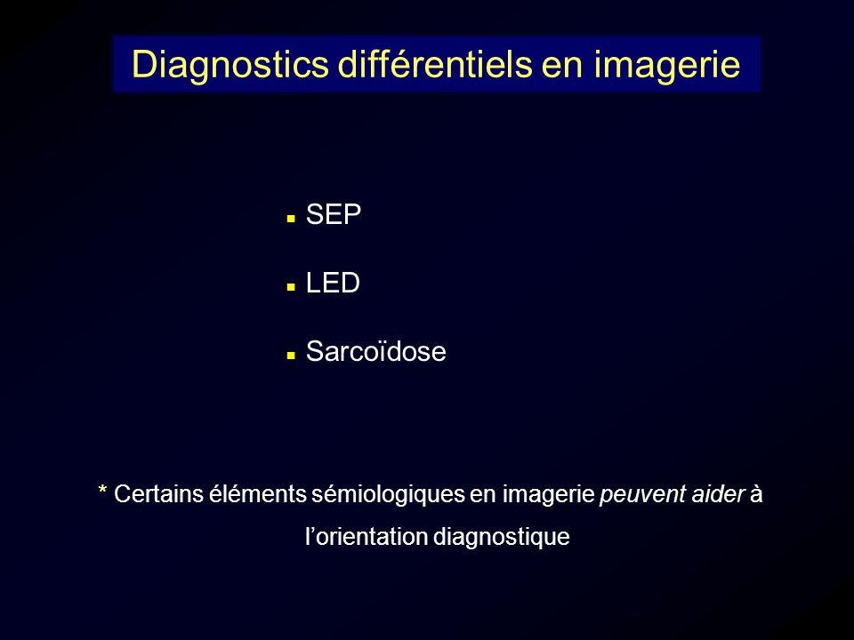 Diagnostics différentiels en imagerie