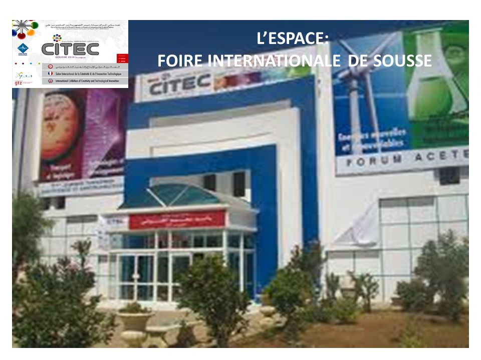 FOIRE INTERNATIONALE DE SOUSSE