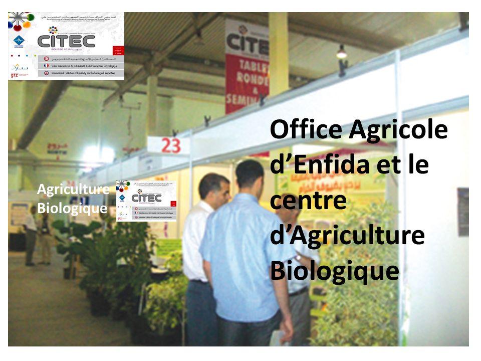 Office Agricole d'Enfida et le centre d'Agriculture Biologique