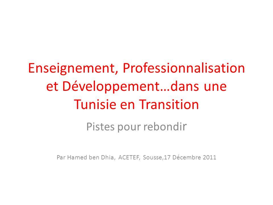 Par Hamed ben Dhia, ACETEF, Sousse,17 Décembre 2011