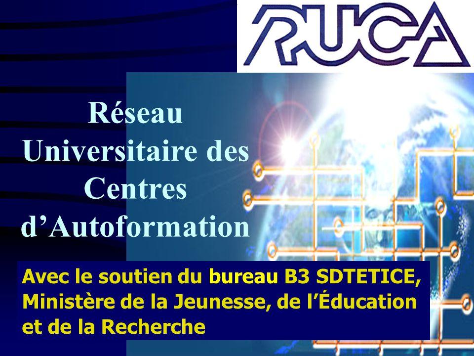 Réseau Universitaire des Centres d'Autoformation