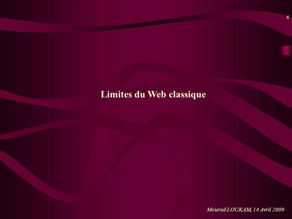 Limites du Web classique