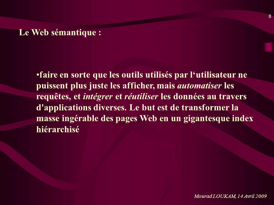 Le Web sémantique :