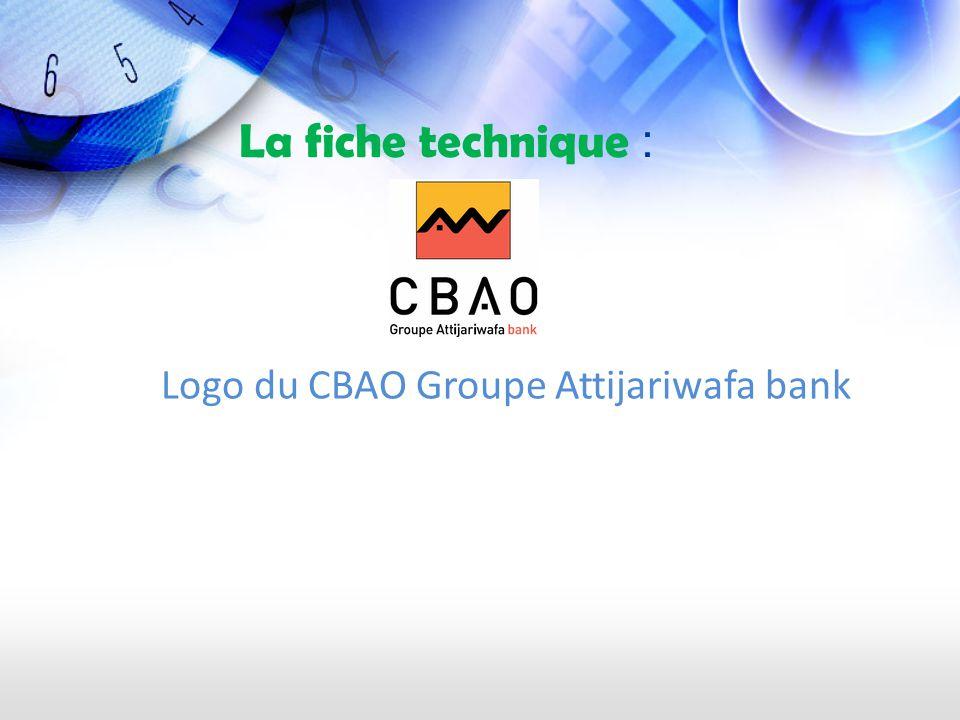 Logo du CBAO Groupe Attijariwafa bank