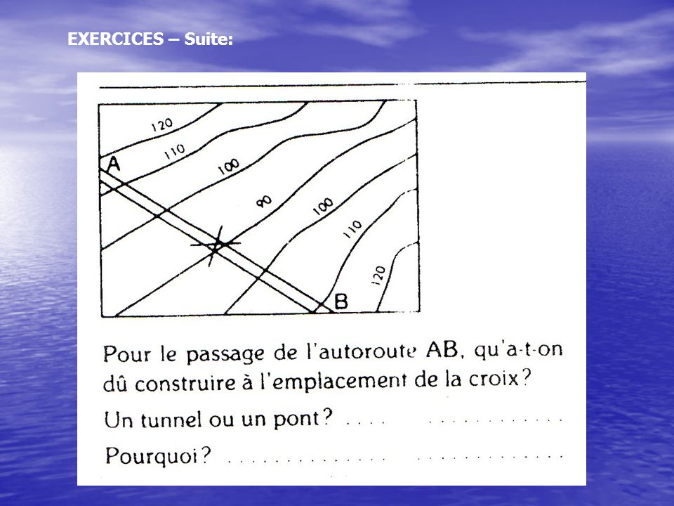 EXERCICES – Suite: