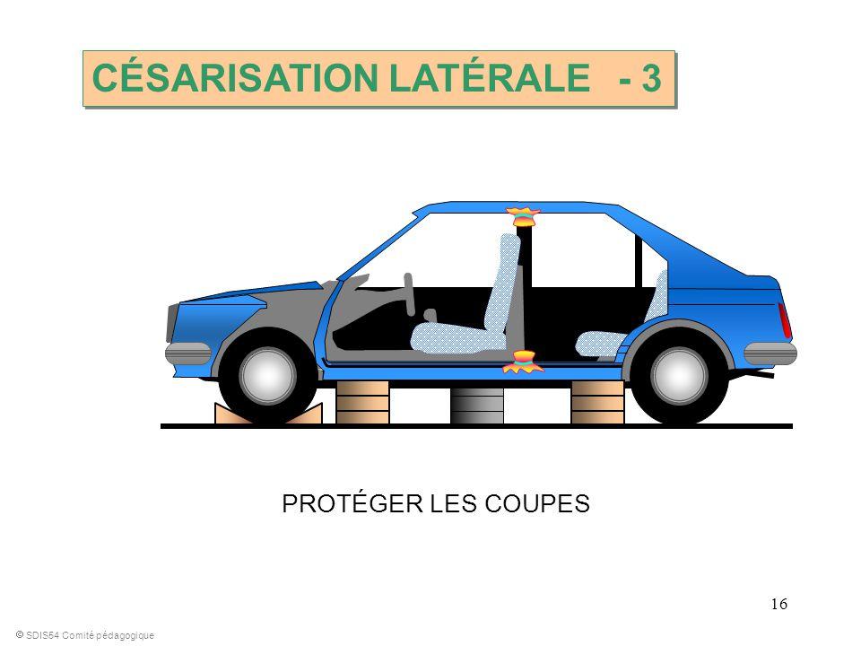 CÉSARISATION LATÉRALE - 3