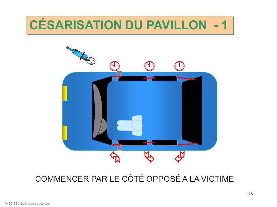       CÉSARISATION DU PAVILLON - 1