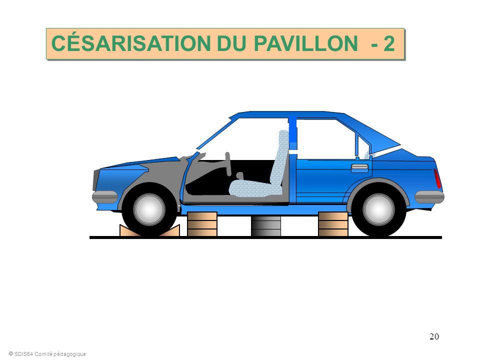 CÉSARISATION DU PAVILLON - 2