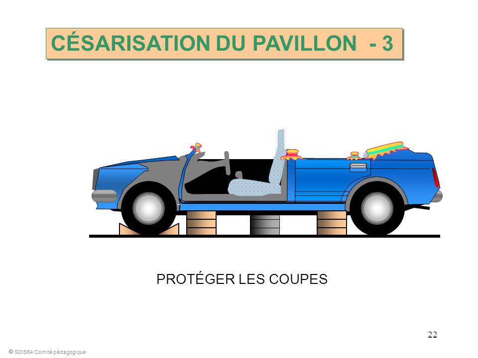 CÉSARISATION DU PAVILLON - 3