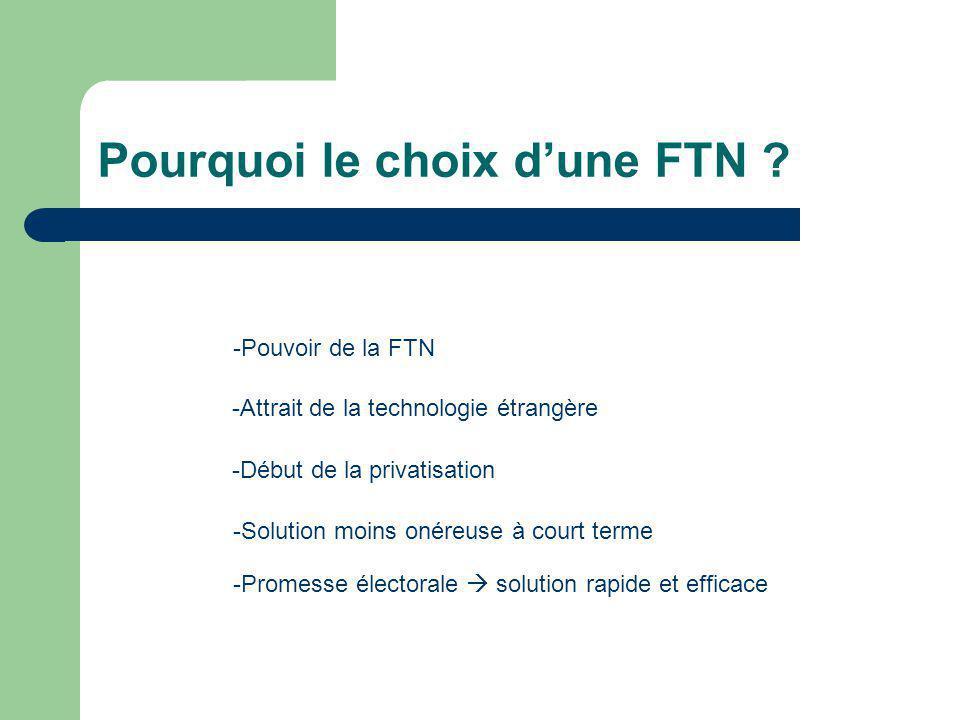Pourquoi le choix d'une FTN